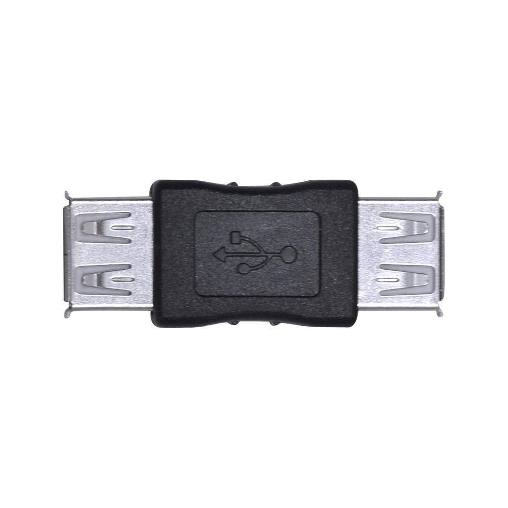 ADAPTADOR USB FÊMEA PARA USB FÊMEA AUSBF