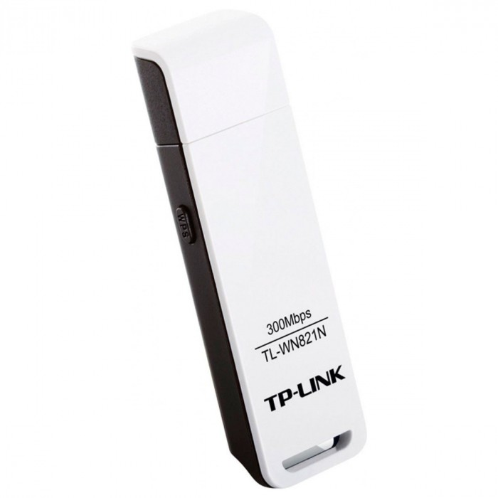 ADAPTADOR USB WIRELESS N 300MBPS TL-WN821N