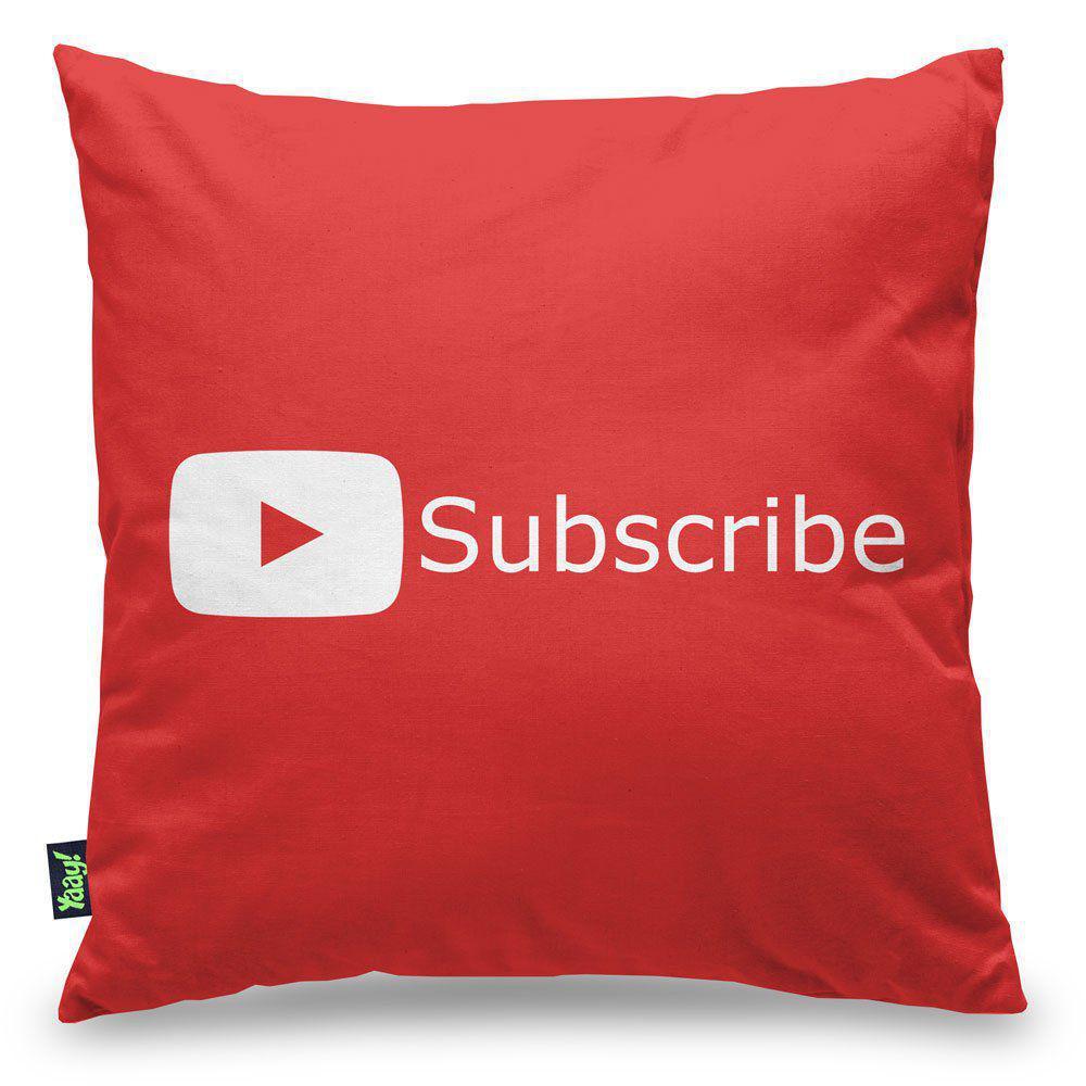 Almofada Play Button Subscribe