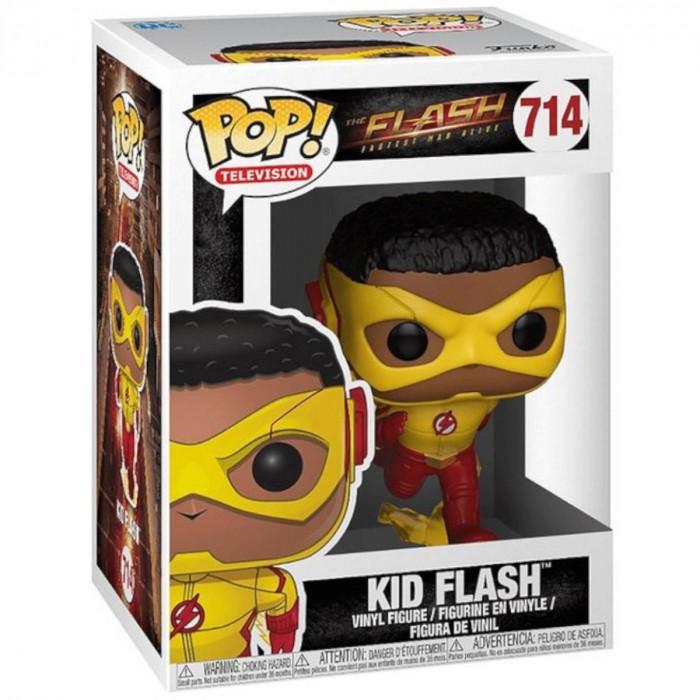 BONECO FUNKO POP DC - THE FLASH - KID FLASH #714 - FUNKO