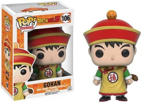 BONECO FUNKO POP DRAGONBALL Z - GOHAN #106