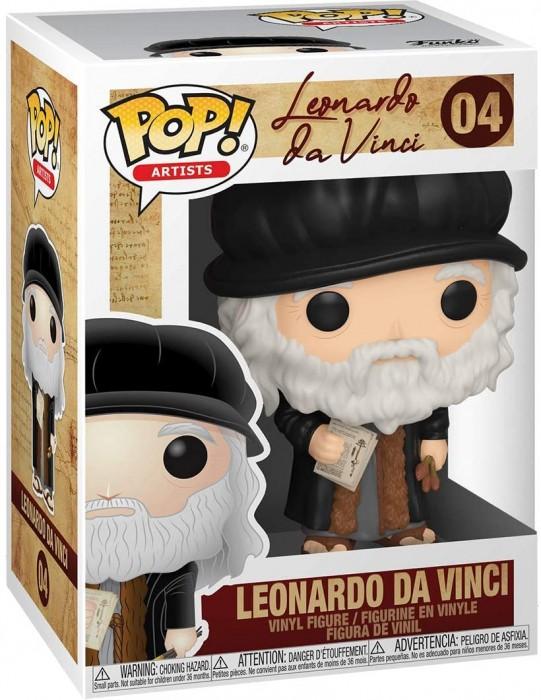BONECO FUNKO POP LEONARDO DA VINCI - LEONARDO DA VINCI #04