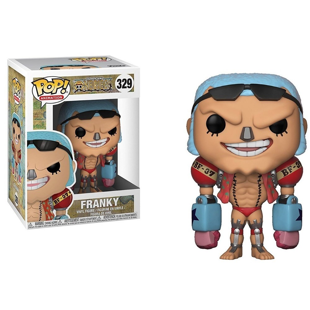 BONECO FUNKO POP ONE PIECE 2 FRANKY #329