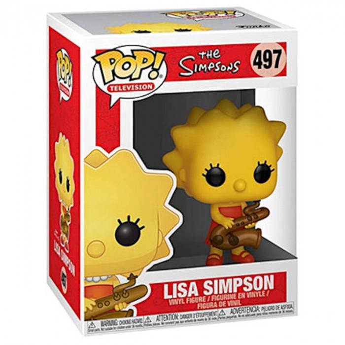 BONECO FUNKO POP OS SIMPSONS - LISA SIMPSON SAXOPHNE #497