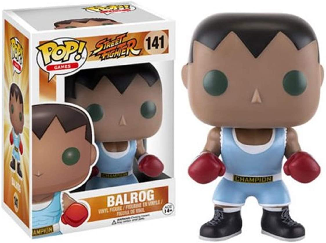 BONECO FUNKO POP STREET FIGHTER - BALROG #141