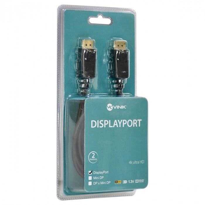 CABO DISPLAYPORT 1.3V ULTRA HD 60HZ 3 METROS - DP13-3