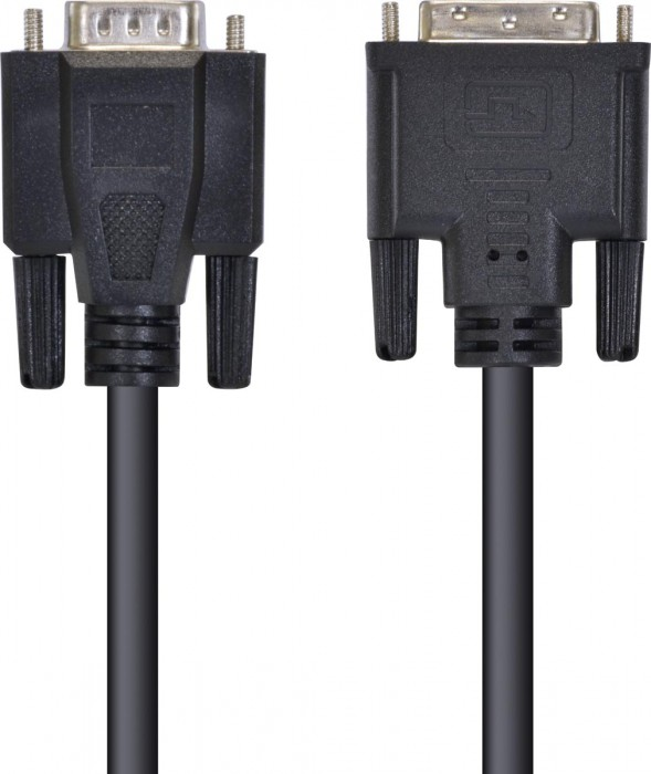 CABO DVI-I 24+5 PINOS X VGA 15 PINOS 2 METROS DIVGA-2