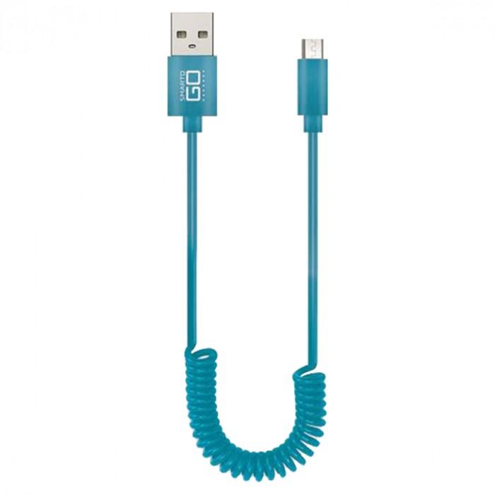 CABO ESPIRAL MICRO USB 5 PINOS 1.2 METROS WI354 CORES SORTIDAS