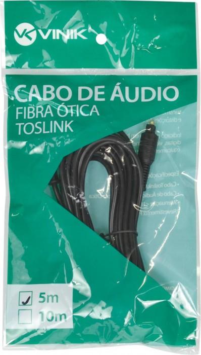 CABO OPTICO DE AUDIO TOSLINK 5 METROS ATC-5