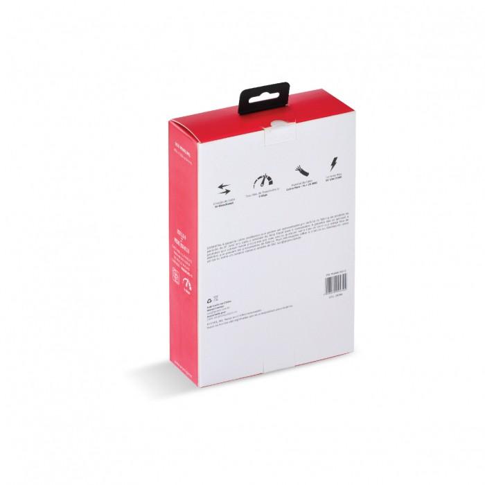 CABO PARA HD EXTERNO USB A 3.0 MACHO PARA MICRO USB B 3.0 (10 PINOS) MACHO 28AWG PURO COBRE 5 METROS - PUAMCM3-5