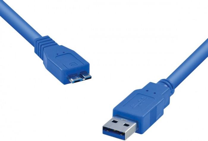 CABO USB 3.0 A MACHO X MICRO USB B MACHO 1.2 METROS U3AMBMC-12