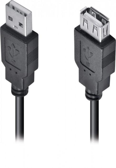 CABO USB A MACHO X USB A FEMEA 2.0 - 1.8M EXTENSOR - UAMAF-18