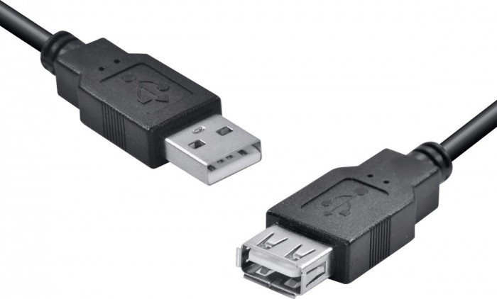CABO USB A MACHO X USB A FEMEA 2.0 - 5M EXTENSOR - UAMAF-5