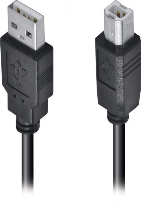 CABO USB PARA IMPRESSORA A MACHO X B MACHO 2.0 - 1.8M UAMBM-18