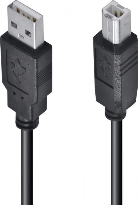 CABO USB PARA IMPRESSORA A MACHO X B MACHO 2.0 - 5M UAMBM-5