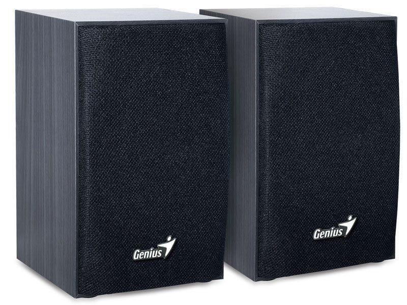 CAIXA DE SOM 2.0 CH GENIUS 31731063100 SP-HF160 4W RMS PRETO ALIMENTACAO USB