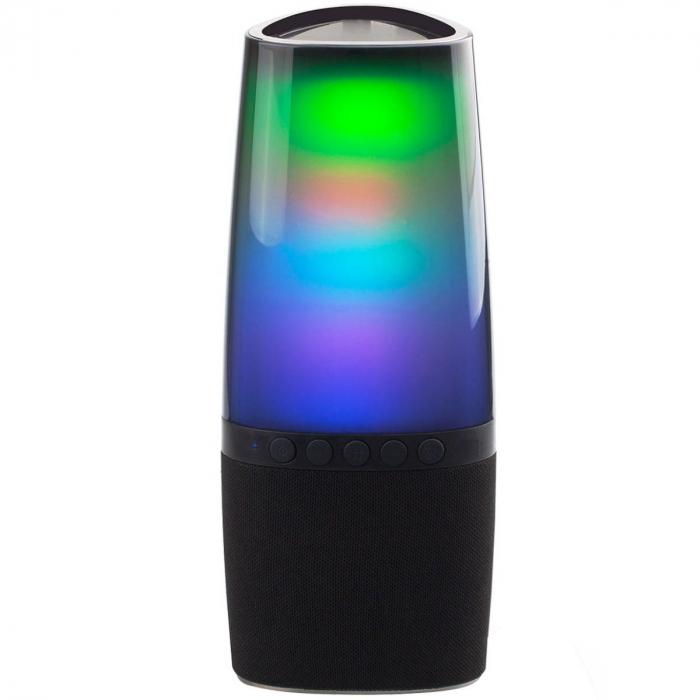 CAIXA DE SOM ATIVA PORTATIL LIGHT PULSE BLUETOOTH/SD/USB COM CONTROLE REMOTO