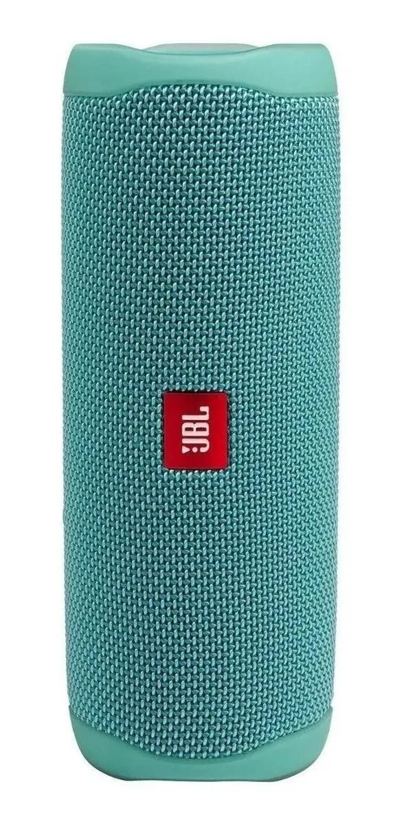 Caixa De Som Bluetooth JBL Flip 5 A Prova De Agua Ipx7 Teal Verde