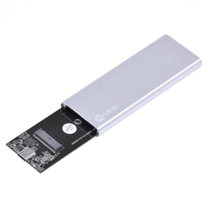 CASE EXTERNO PARA SSD M.2 CONEXAO USB 3.0 - USB TIPO C/TYPE C PARA USB - CS25-C30