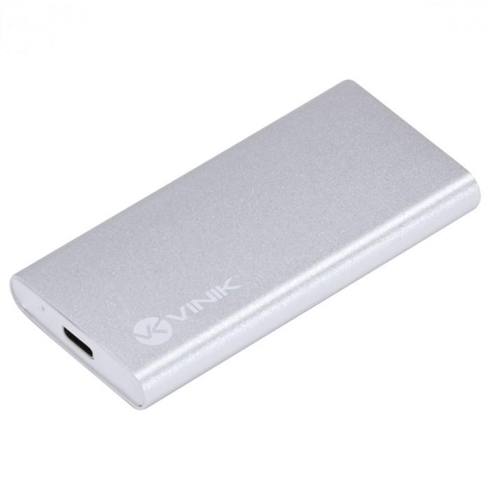 CASE EXTERNO PARA SSD MSATA CONEXAO USB TIPO C / TYPE C 3.1 PARA USB - CS25-A31
