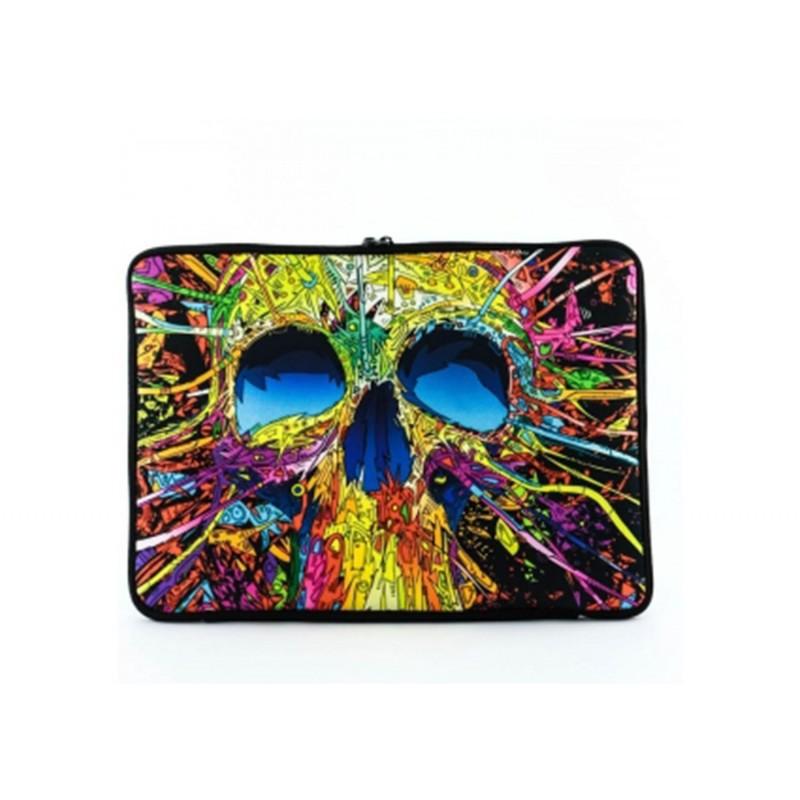 """Case Notebook Basic 14"""" - Color Skull"""