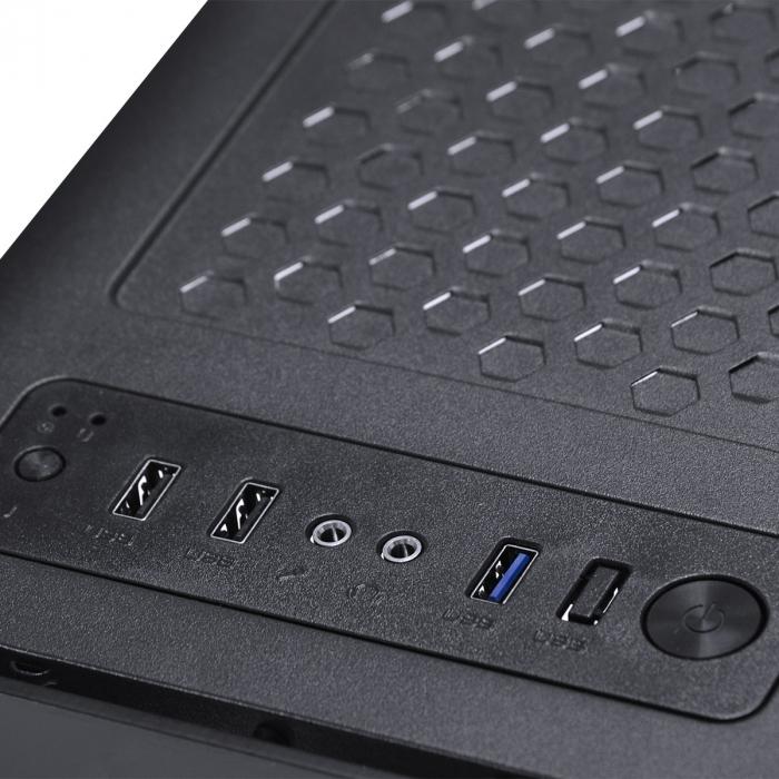 COMPUTADOR GAMER 3000 - I3 10100F 3.6GHZ 10ª GER. MEM. 8GB DDR4 HD 1TB RX 580 8GB FONTE 500W SEM PPB