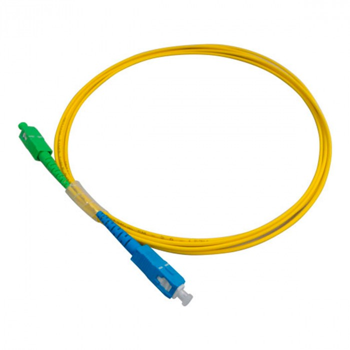 CORDAO OPTICO SIMPLEX SC (APC) X SC (UPC) MONO MODO 2,5 M NKLT-SASU1B2022.250C