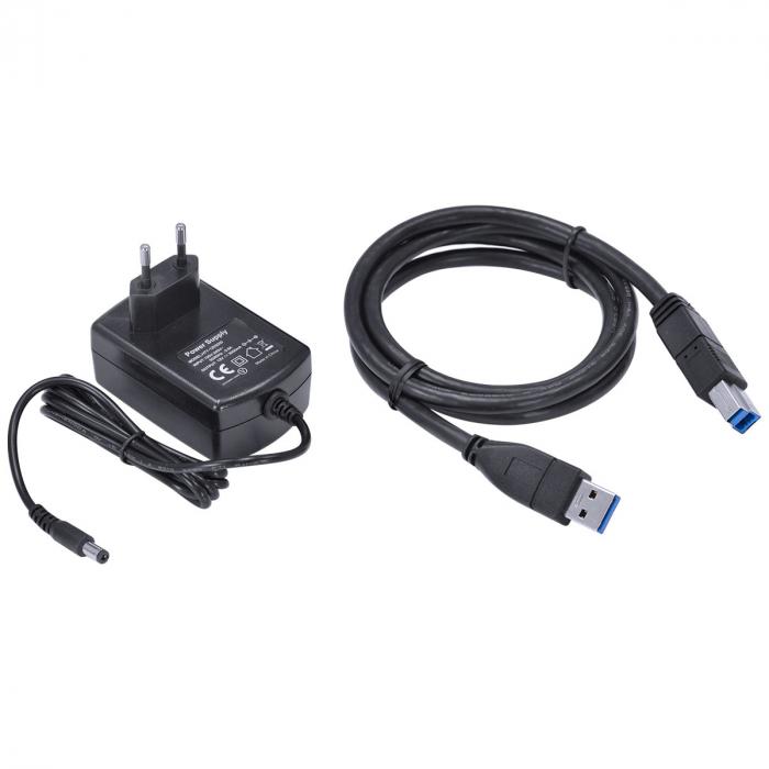 "DUPLICADOR DE HD DOCKING STATION 2.5"" E 3.5"" CONEXAO USB 3.0 PARA SATA - DP35-A30B"