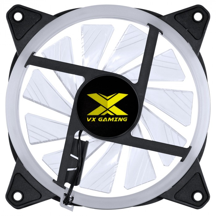 FAN/COOLER VX GAMING PARA GABINETE V.RING ANEL DE LED 120X120MM RGB - VRINGRGB