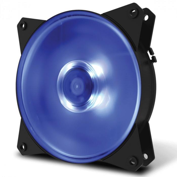 FAN PARA GABINETE MASTERFAN 120MM MF120L LED AZUL - R4-C1DS-12FB-R1