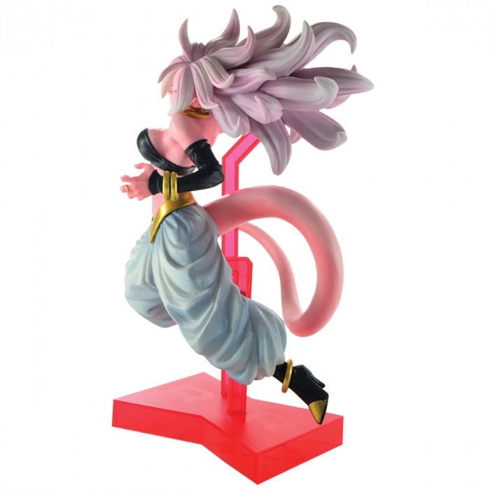 ACTION FIGURE DRAGON BALL SUPER - ANDROID 21 - THE ANDROID BATTLE REF: 29215/29216