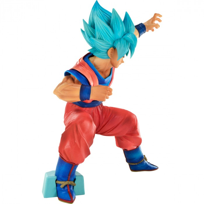 ACTION FIGURE DRAGON BALL SUPER - GOKU SUPER SAYAJIN BLUE - BIG SIZE REF.27157/27158