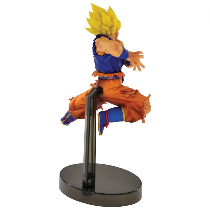 ACTION FIGURE DRAGON BALL SUPER - GOKU SUPER SAYAJIN - Z BATTLE REF: 34838/34839