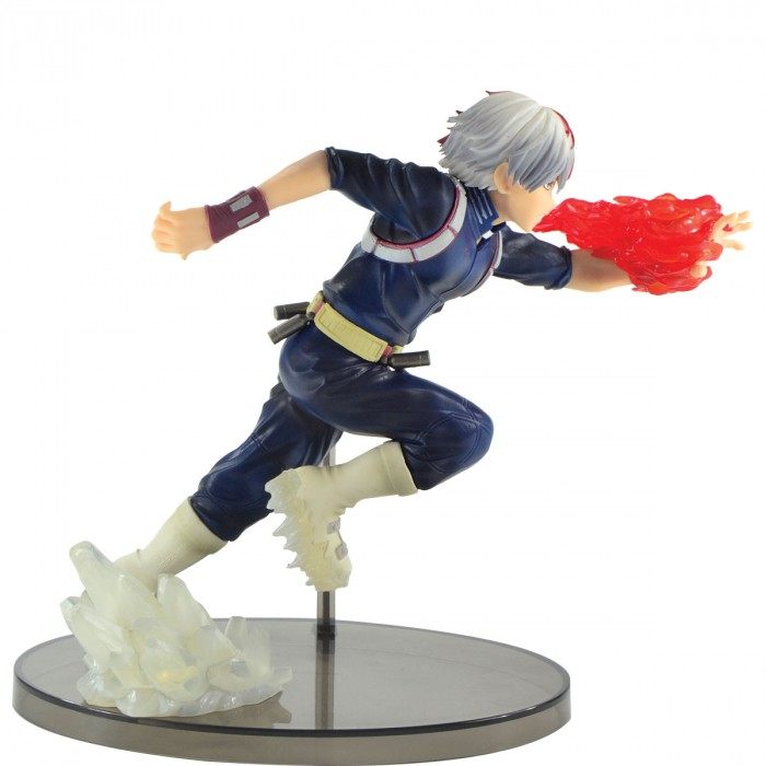 ACTION FIGURE MY HERO ACADEMIA - SHOTO TODOROKI - ENTER THE HERO REF:28957/28958