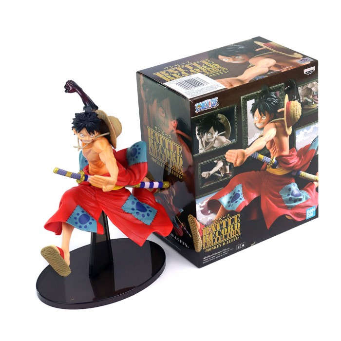 ACTION FIGURE ONE PIECE - MONKEY D LUFFY - BATTLE RECORD COLLECTION REF: 20993/20994