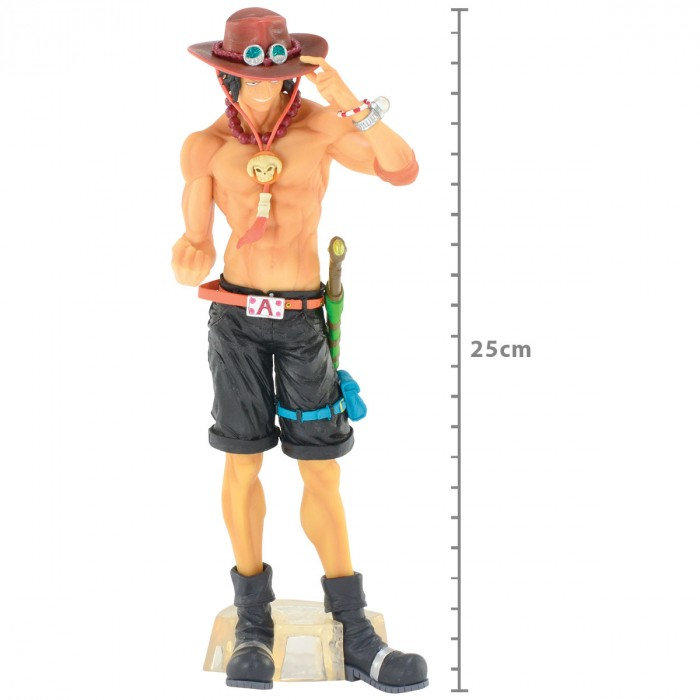 ACTION FIGURE ONE PIECE - PORTGAS D. ACE - 20TH HISTORY MASTERLISE REF: 34799/34800