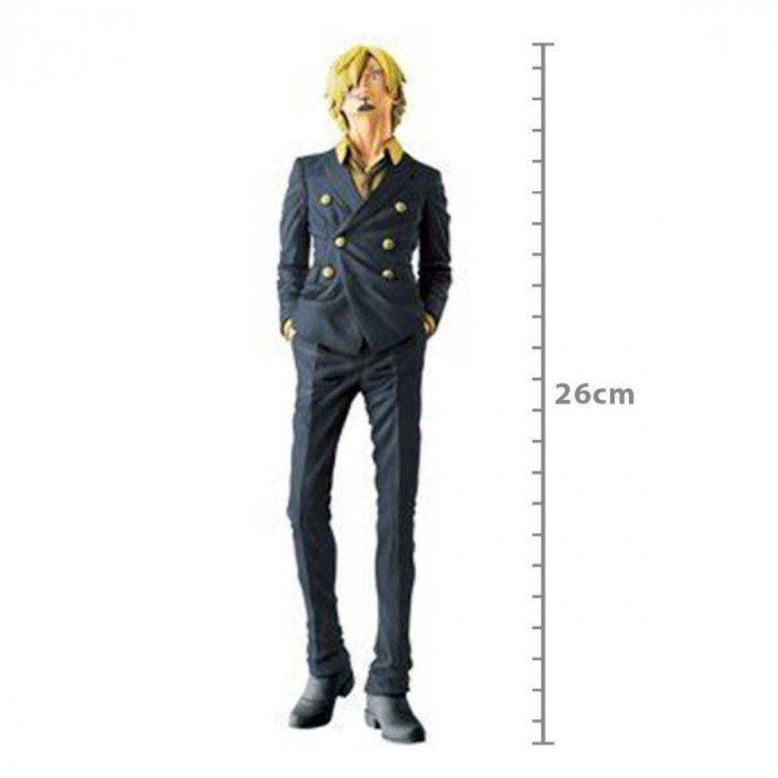 ACTION FIGURE ONE PIECE - SANJI - MEMORY FIGURE REF.27175/27176