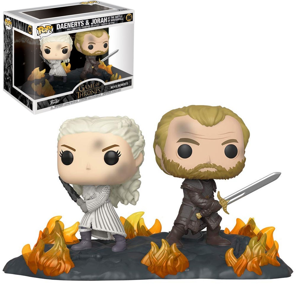 FUNKO POP GAME OF THRONES MOMENTS - DAENERYS & JORAH BATTLE 86