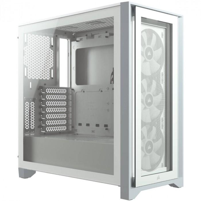 GABINETE ATX MID TOWER - 4000 SERIES - 4000X RGB WHITE - CC-9011205-WW