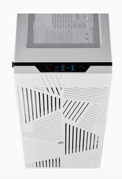 GABINETE ATX MID TOWER - CARBIDE SERIES 275R AIRFLOW WHITE - CC-9011182-WW