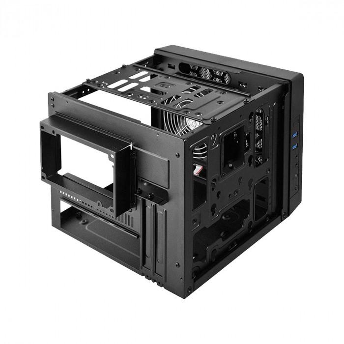 GABINETE CUBO MINI-ITX ELITE 110 MINI CUBO PRETO - RC-110-KKN2