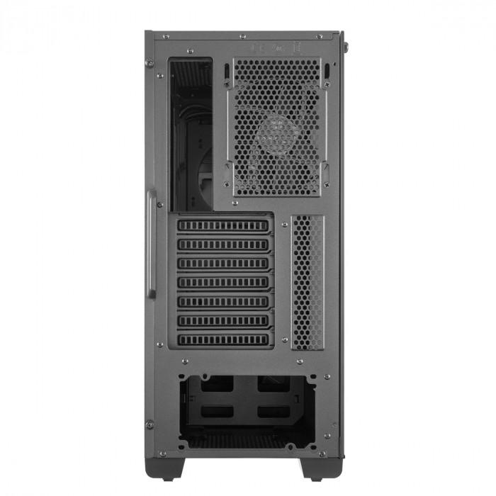 GABINETE MASTERBOX E500 MIDTOWER PAINEL DESLIZANTE COM ODD PRETO - MCB-E500-KG5N-S00