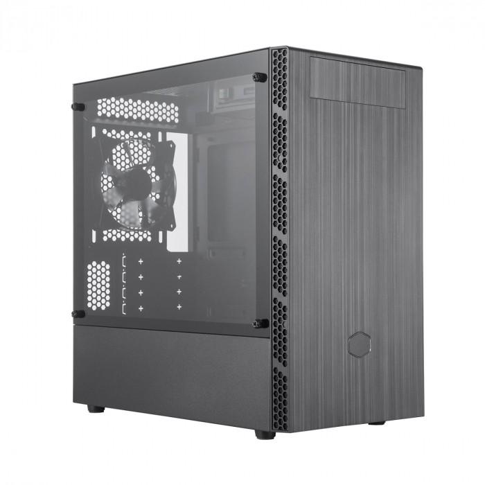 GABINETE MASTERBOX MB400L MINI TOWER COM ODD PRETO - MCB-B400L-KG5N-S00