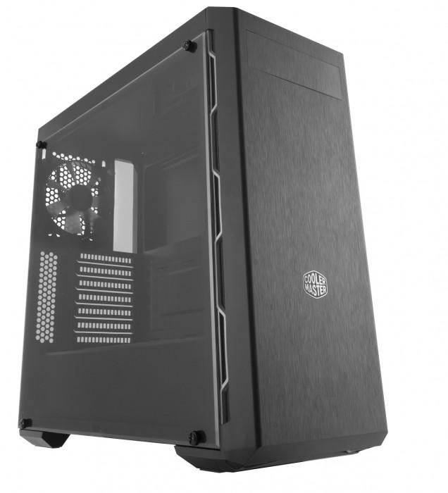 GABINETE MASTERBOX MB600L - COM ODD - BORDA CINZA - MCB-B600L-KA5N-S02