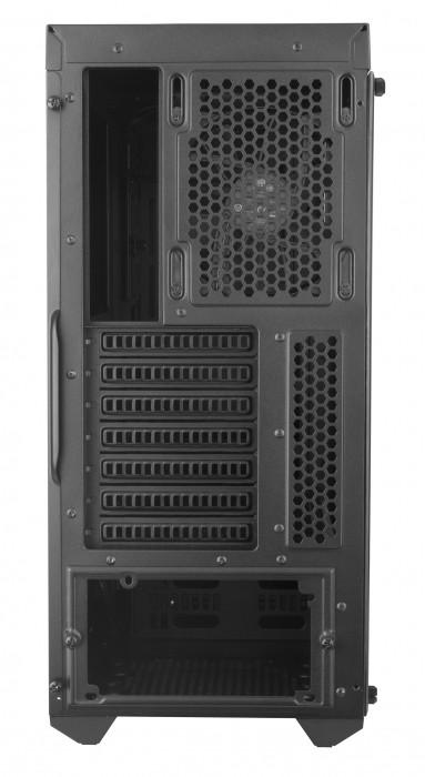 GABINETE MASTERBOX MB600L - COM ODD - BORDA RED - MCB-B600L-KA5N-S00