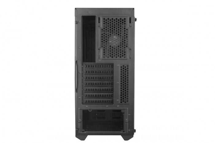 GABINETE MASTERBOX MB600L MCB-B600L-KANN-S00 - BORDA RED
