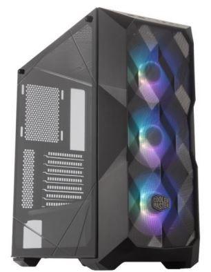 GABINETE MASTERBOX TD500 MESH (COM CONTROLADOR RGB) - MCB-D500D-KGNN-S01