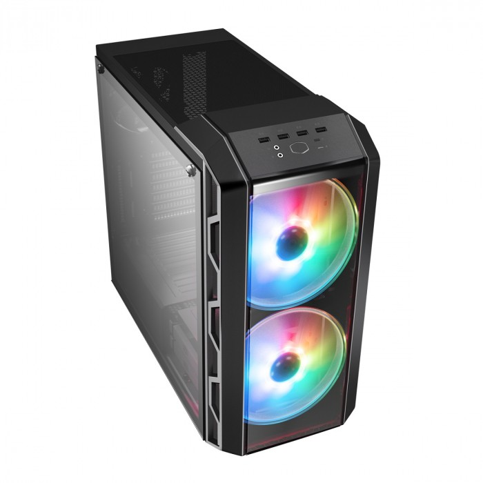 GABINETE MASTERCASE H500 MID TOWER COM LED ARGB MCM-H500-IGNN-S01