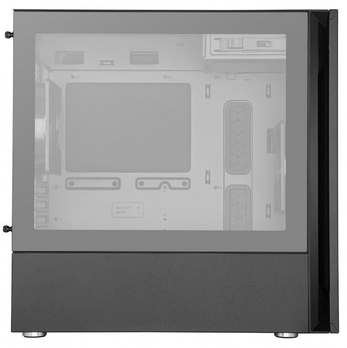 GABINETE SILENCIO S400 - M-ATX/TG - MCS-S400-KG5N-S00