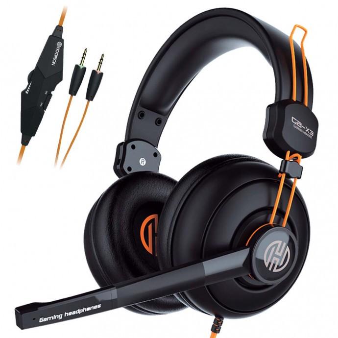 Headset Pro Gamer com Fio e Controle de Volume Hoopson - GA-X3